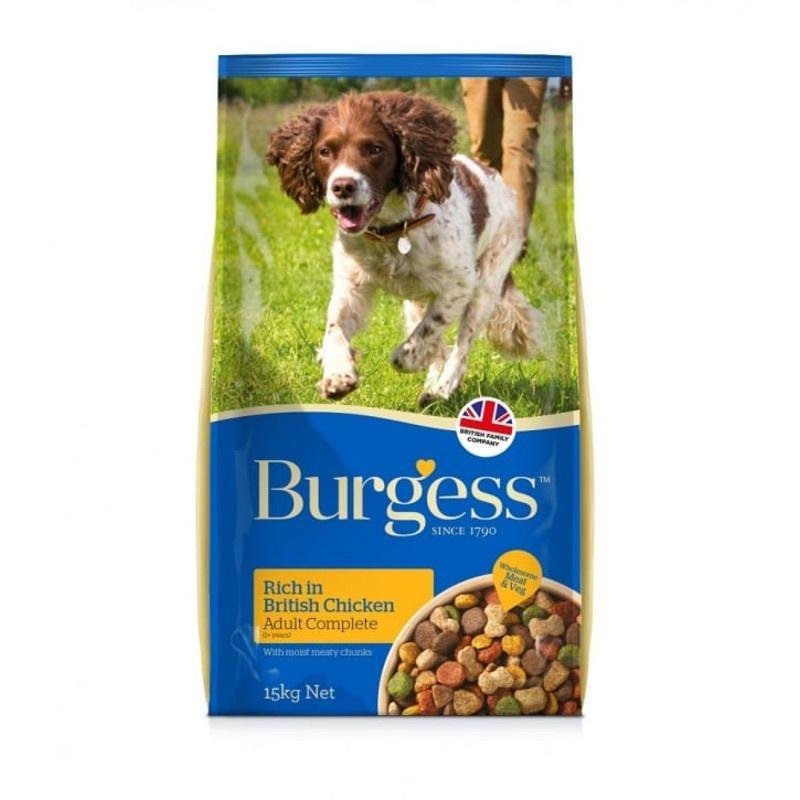 Burgess Dog Food Rich In British Chicken Dog Food Recipes Dog