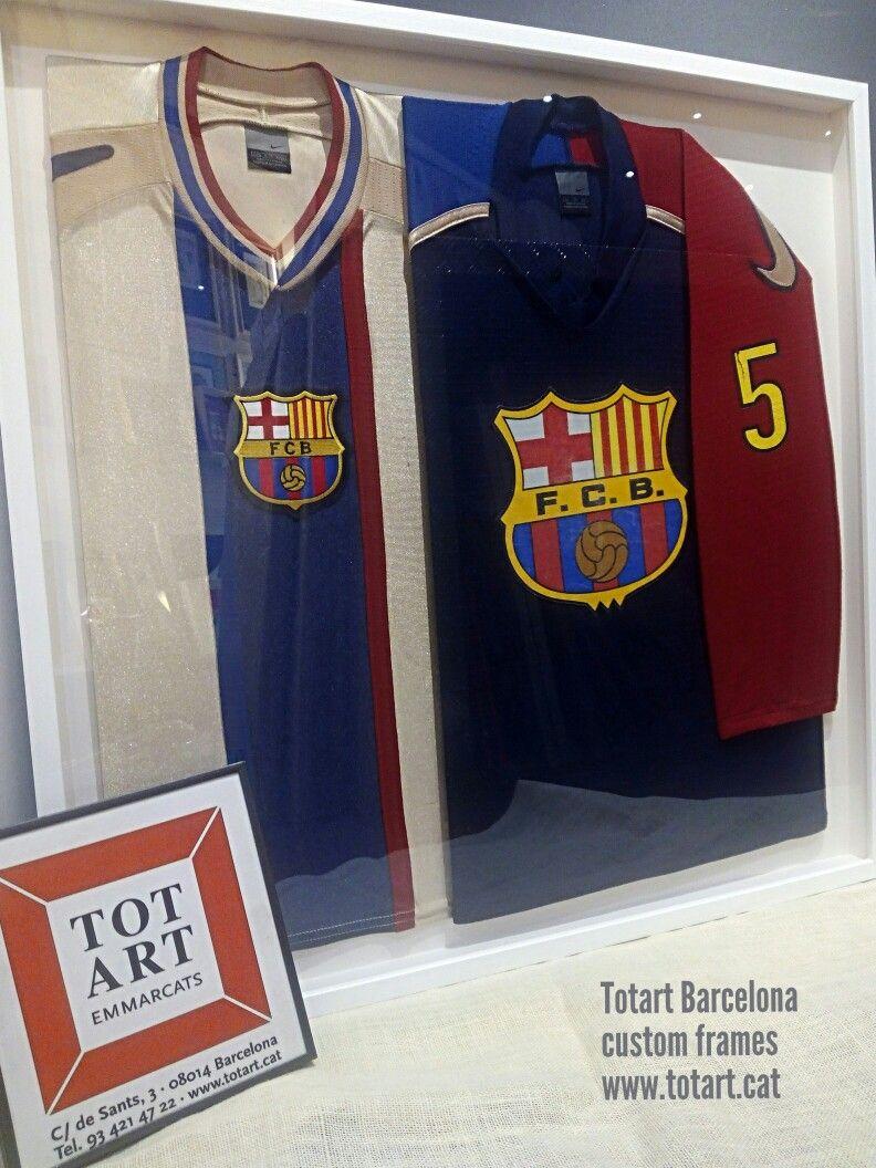 Marco para camiseta de hockey en vitrina fcbarcelona | Marcos para ...