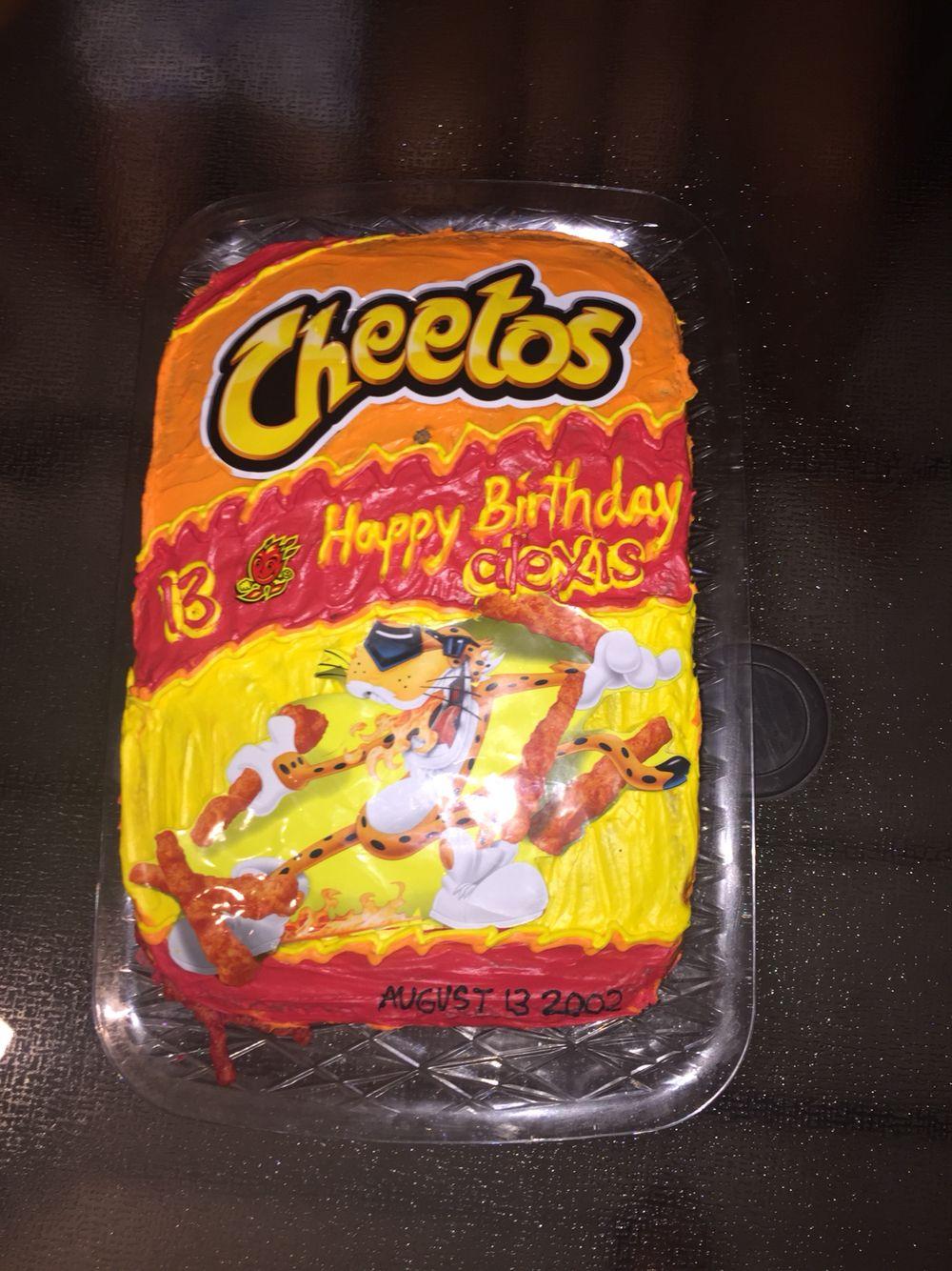 Hot Cheeto Cake Recipes