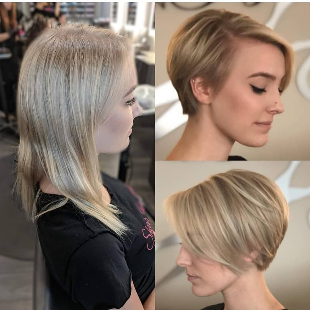 """Pixiecut 🍉 ShortHair 🌍 Blogger on Instagram: """"Long to Pixie By"""