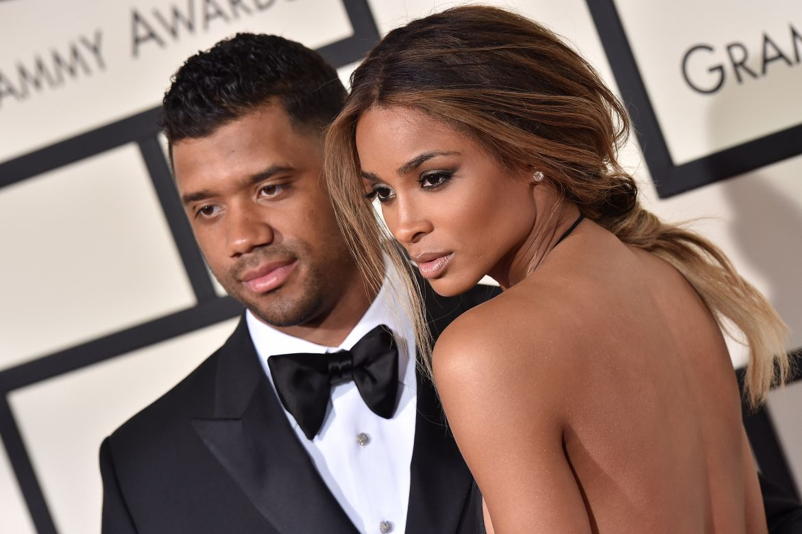 Ciara and Russell Wilson Have Date Night At Seattle Art