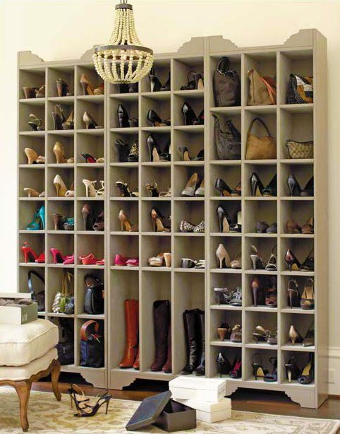Sarah Shoe Storage Tower , i just died buying this if it fits my apartment lol #ALDO40 #shoecloset