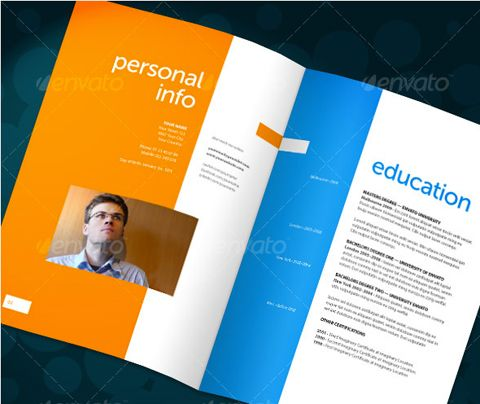 ResumeBooklet  Cool Creative CVS    Functional