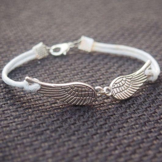 Silver Wings Bracelet