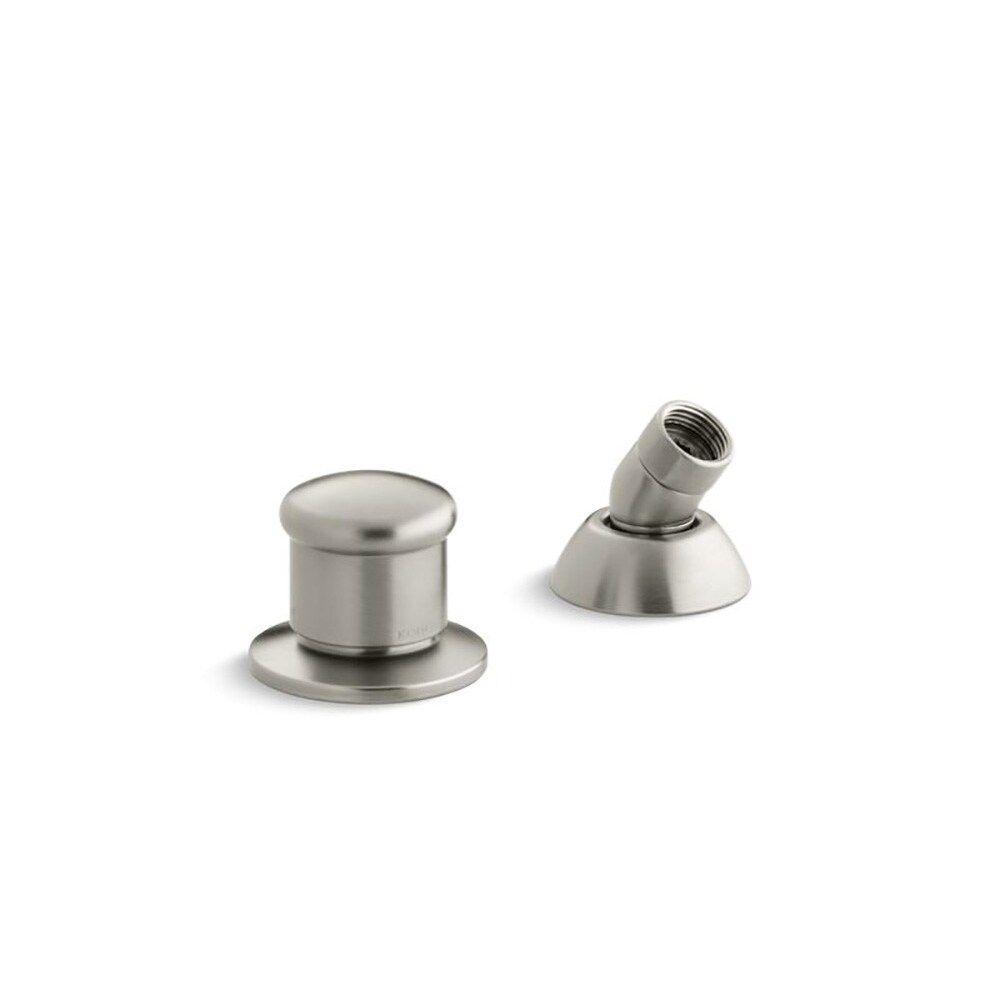 Photo of Kohler two-way diverter valve and hand shower hose guide Brushed nickel brushed