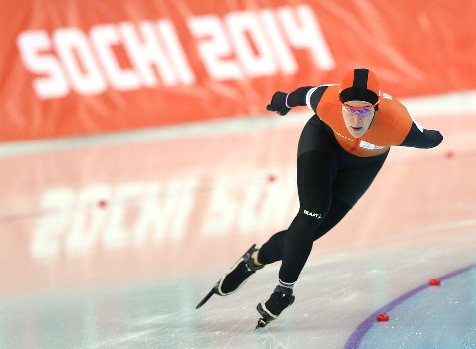 Speed Skating Sochi 2014 Women's 3000m Ireen Wust
