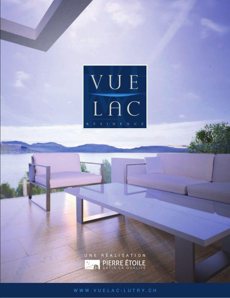 brochure vue lac lutry architecture 3d lutry. Black Bedroom Furniture Sets. Home Design Ideas