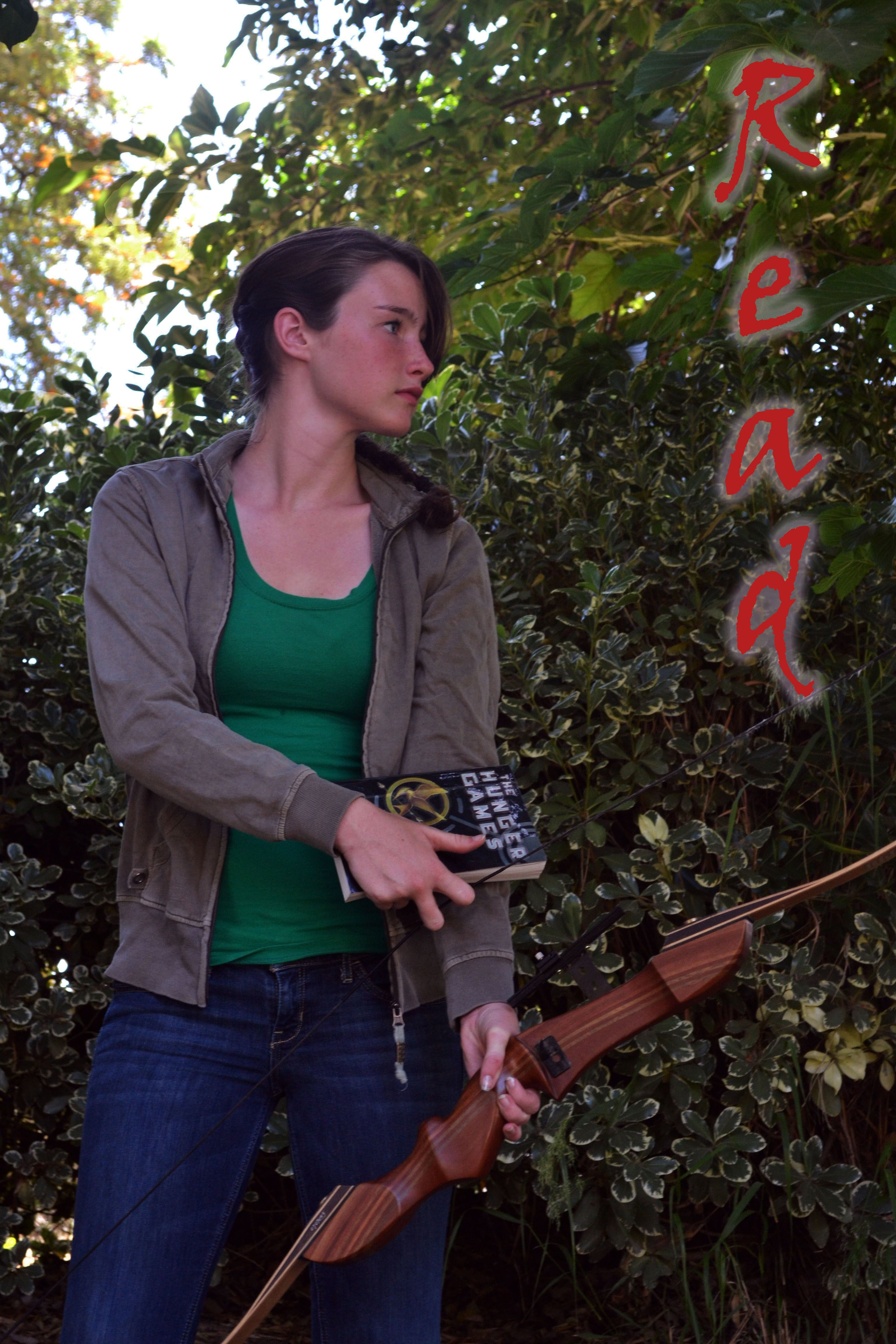 Photo project. :) Thanks to Jessica Hancock for being Katniss!