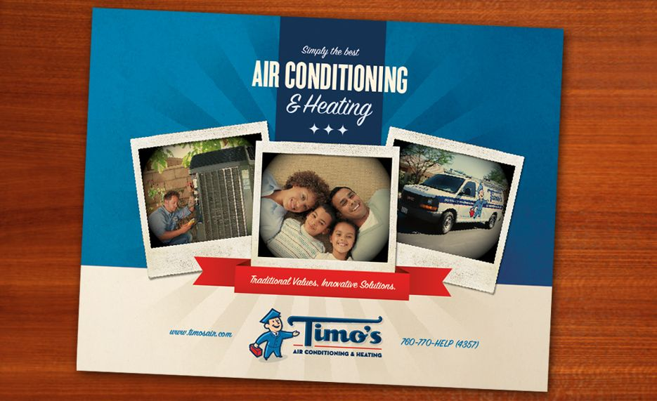 Timo S Air Conditioning Heating Kickcharge Creative
