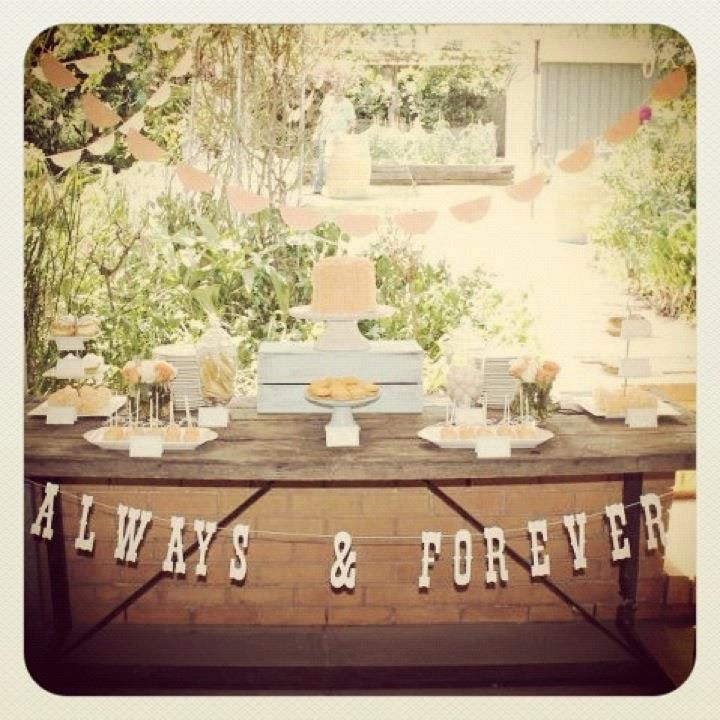 Shabby Chic Bridal Shower Wedding Shower Ideas