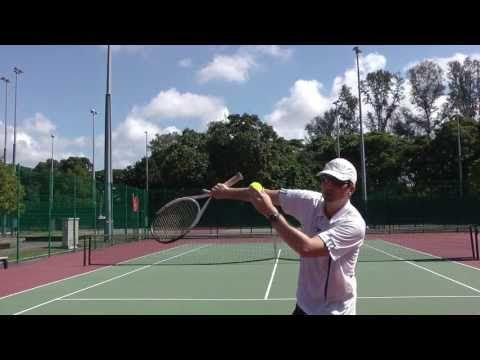 Tennis Serve Pronation Exercise For Top Spin Serves Tennis Serve Pronation Exercises Tennis Lessons