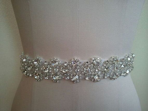 Wedding Belt Bridal Sash Crystal Rhinestone Style Absolutely Dazzling Finest Will Take Your