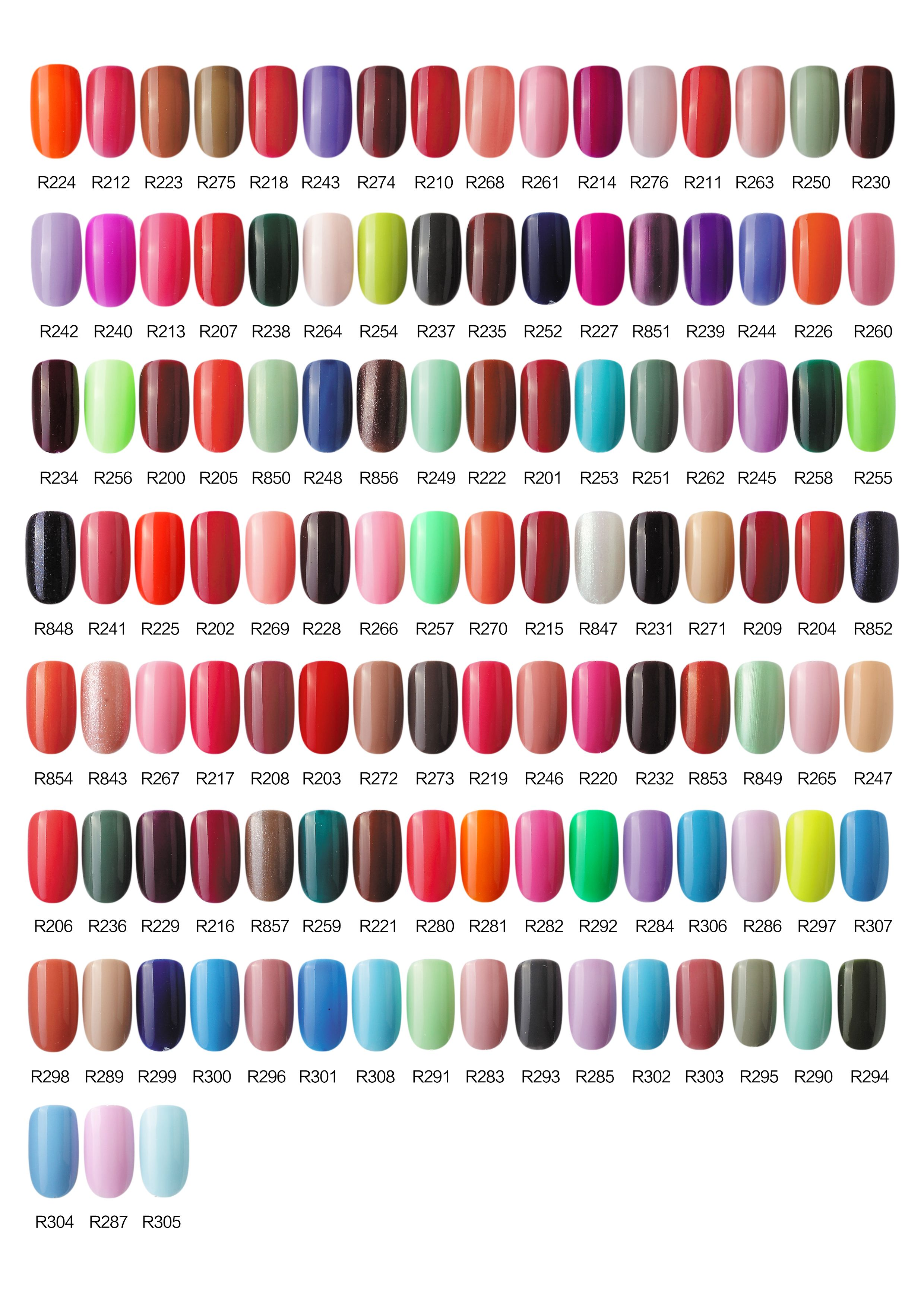 One step gel polish color chart 02 nail colors pinterest one step gel polish color chart 02 geenschuldenfo Images