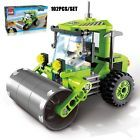 Building toy farm tractor project Model Building Blocks Christmas gift  112pcs
