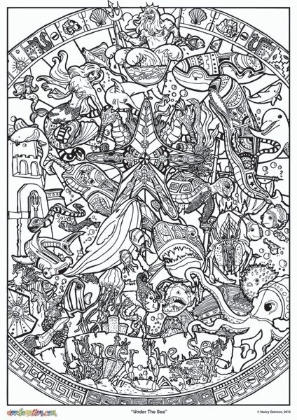 Beautiful Giant Doodle Art Style Colour In Poster Kits Everything You Need To Create Adult Coloring PagesColoring BooksLarge