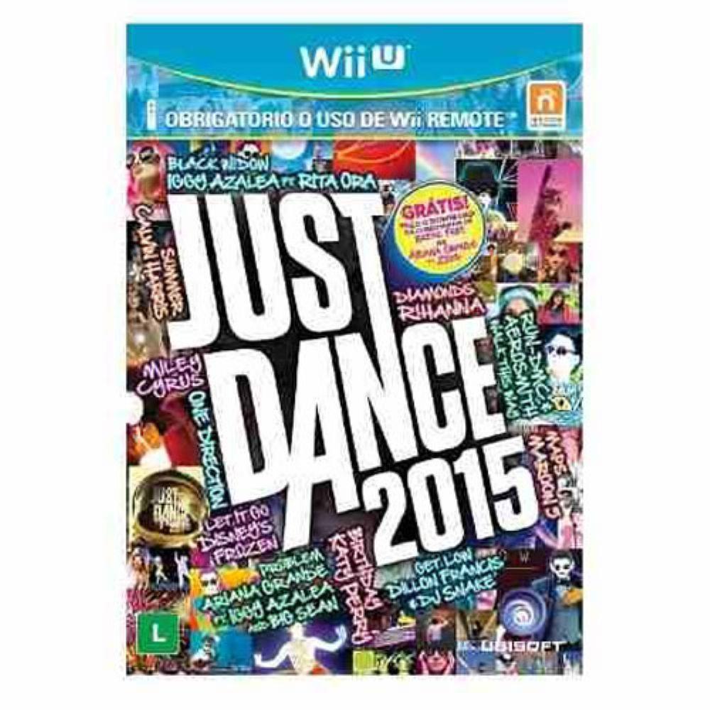 nintendo wii u games 2015 | Just Dance 2015 - Wii U - Jogos Nintendo Wii U no Pontofrio.com
