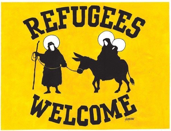 Michael Kountouris Greece Refugees Welcome English