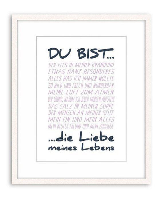 artissimo / Poster mit Spruch Din A4 / 21x297cm / Kunstdrucke