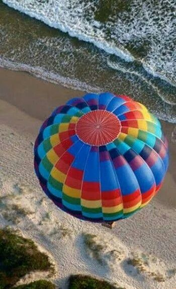 Floating high above the Ocean