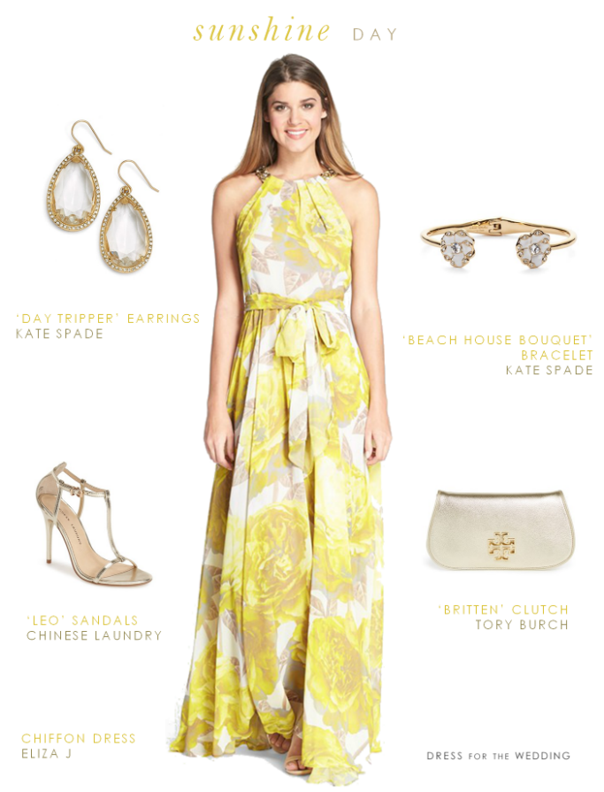 yellow maxi dress yellow maxi dress summer wedding