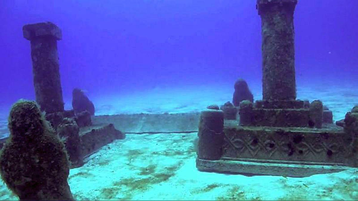 Where Mythology Meets Reality Sunken City Of Dwarka Underwater City Sunken City Underwater