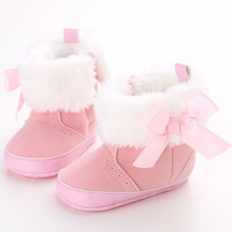 Winter Baby Shoes For Kids Infant Toddler Warm Baby Booties Soft