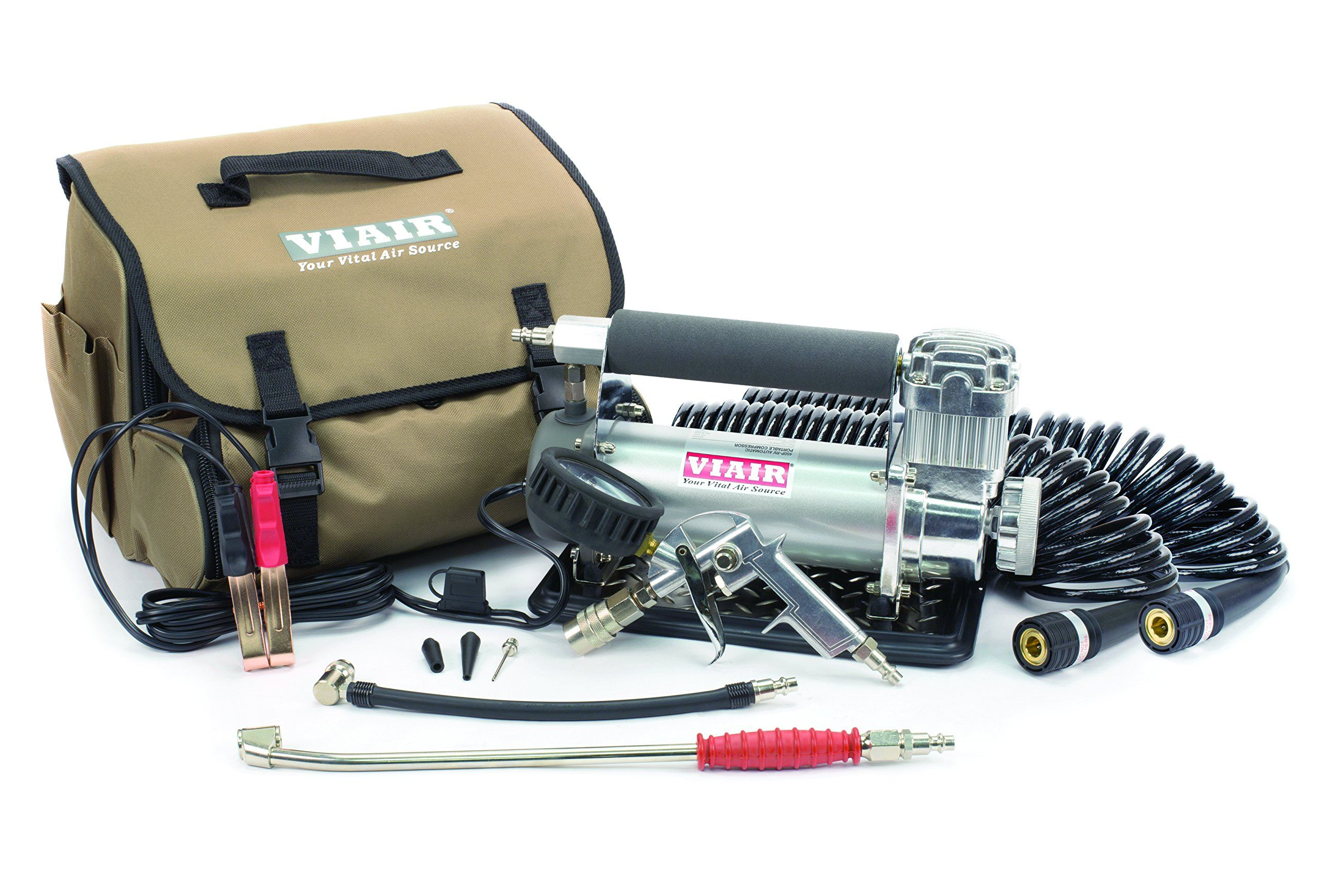 VIAIR 45053 Silver Automatic Portable Compressor Kit