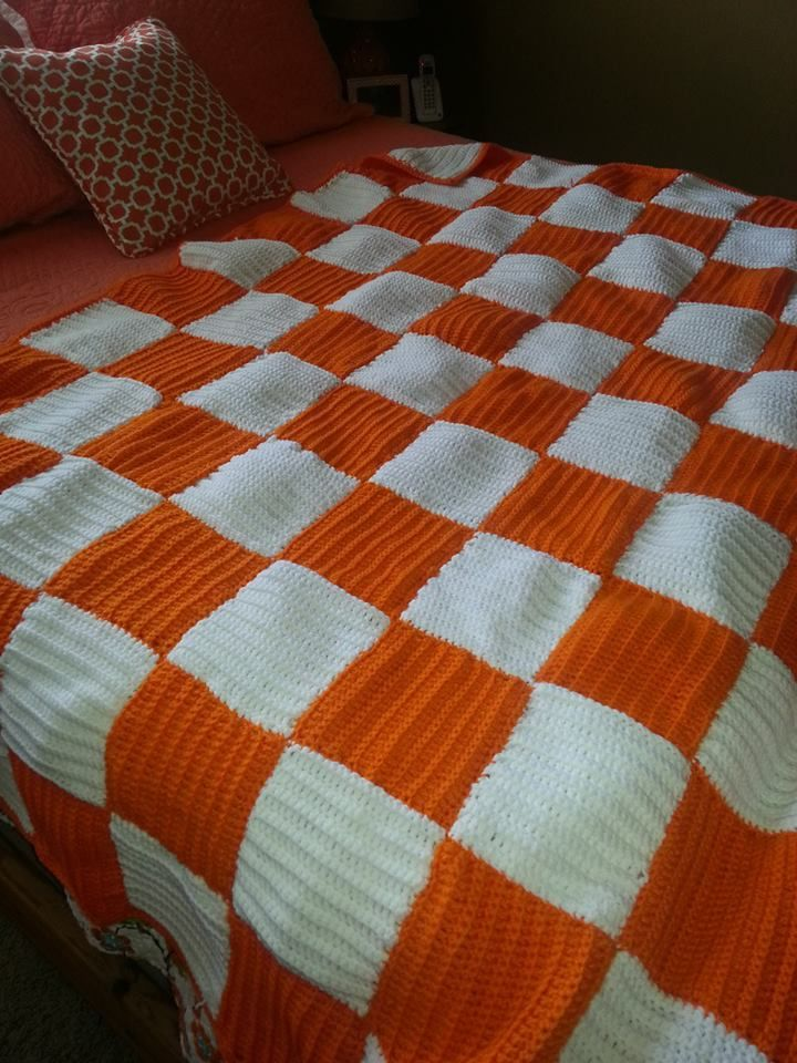 My Tennessee Blanket A Friend Knitted For Me Love