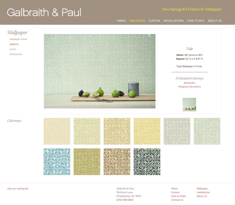 Galbraith & Paul wallpaper
