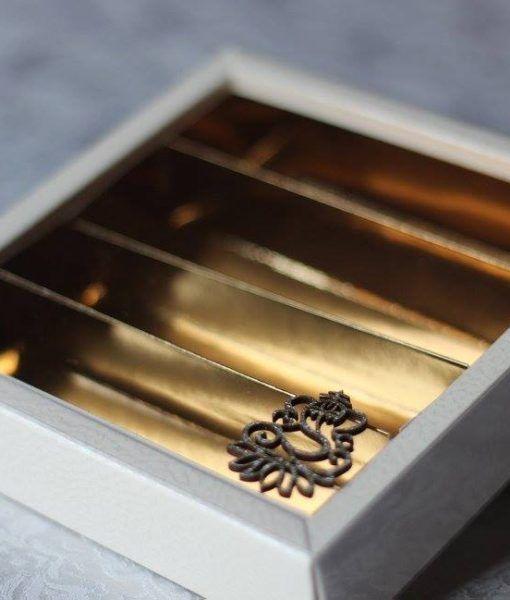 Mithai Burfi Boxes Indian Sweet Box With Ganesh