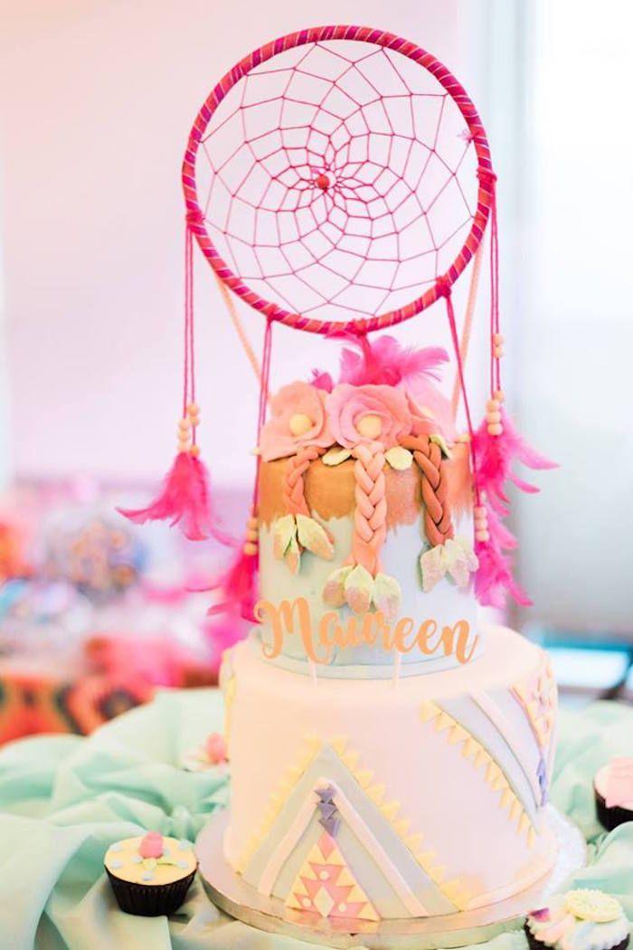 Bohemian Coachella Inspired Birthday Party Boho Party