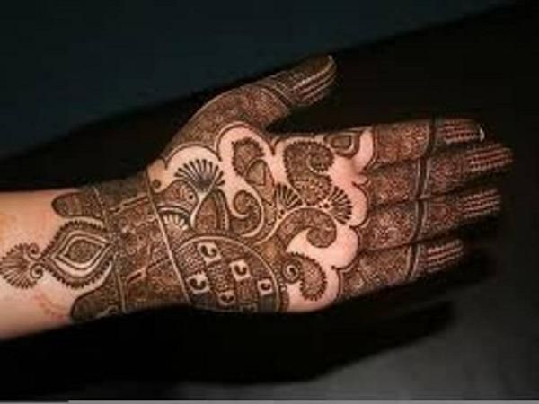 Mehndi Bridal Design Latest : This is the image gallery of bridal wedding mehndi designs for
