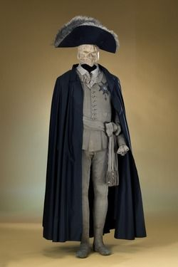 The costume worn by Swedish King Gustaf III when he was murdered at a masquerade ball in Stockholm in 1792
