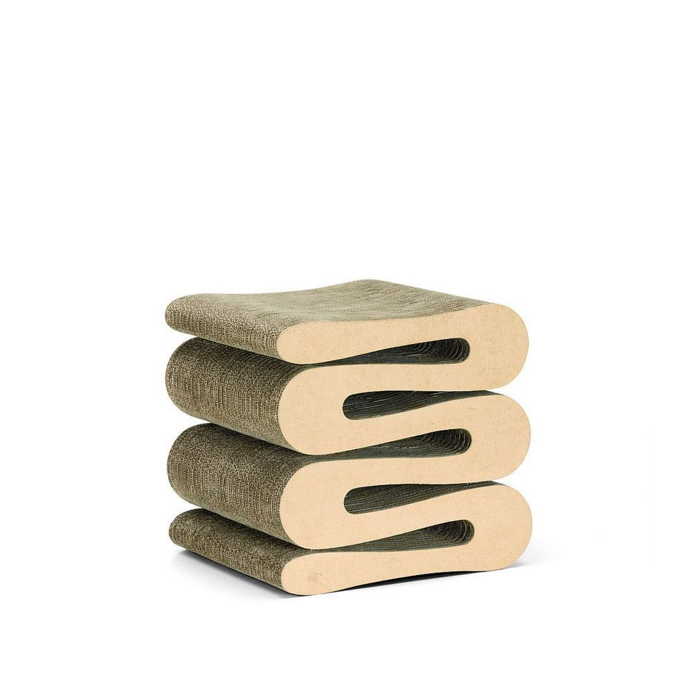 70s chairs is frank o gehry s cardboard chair wiggle side chair - Frank Gehry Wiggle Stool