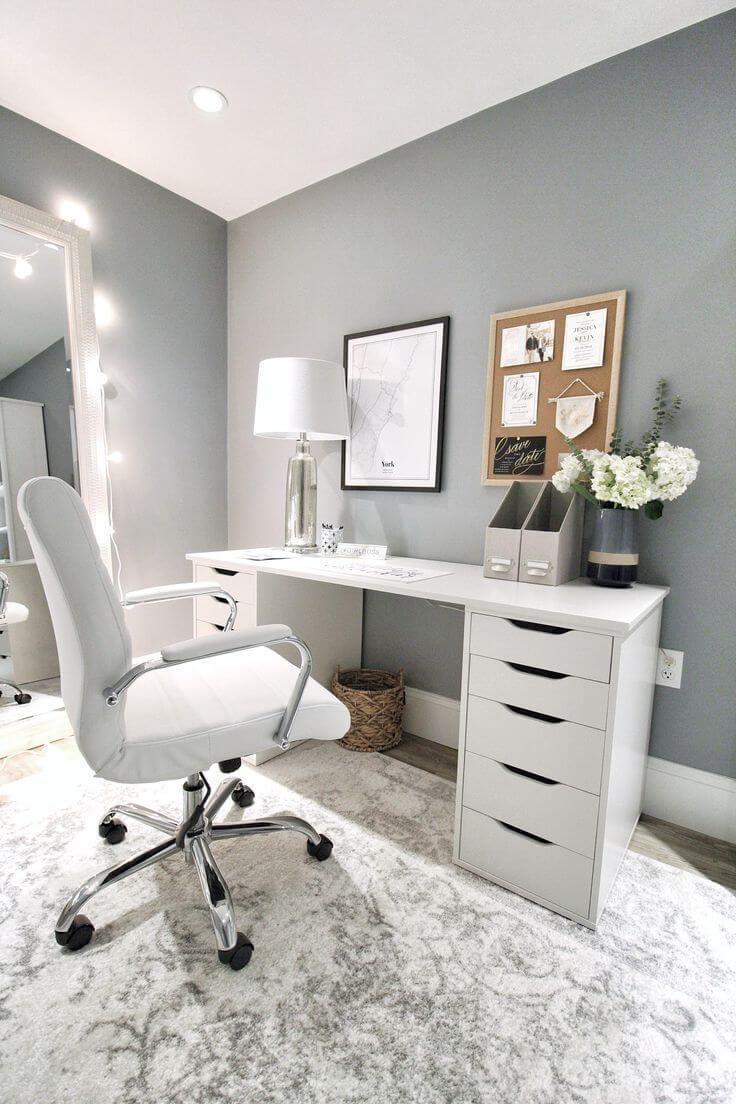 Schreibtisch DIY – Idee, um einen IKEA Schreibtisch selber zu bauen – Whitelilystyle