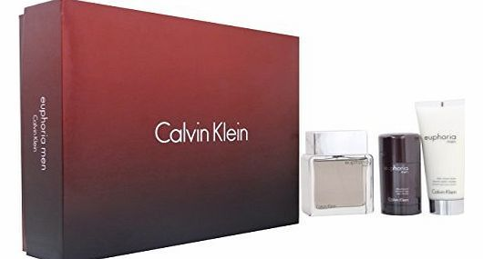 Calvin Klein Euphoria Men by Calvin Klein EDT Spray 100ml   Deodorant Stick 75g   Balm 100ml Giftset No description (Barcode EAN = 3607349627829). http://www.comparestoreprices.co.uk/aftershave/calvin-klein-euphoria-men-by-calvin-klein-edt-spray-100ml- -deodorant-stick-75g- -balm-100ml-giftset.asp