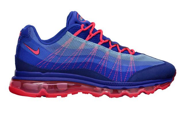 free shipping e170f 69e79 Nike Air Max 95 Dynamic Flywire  Ultramarine Solar Red. So so nice.