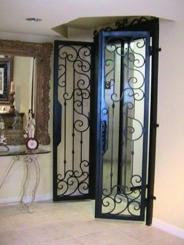Forge Iron Designs Wrought Interior Doors I Want To Do This Going Into My Master Bathroom