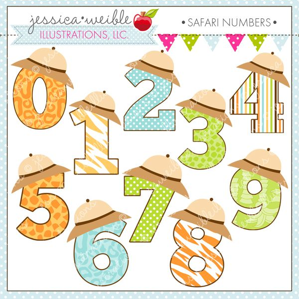 45+ Cute Number 10 Clipart