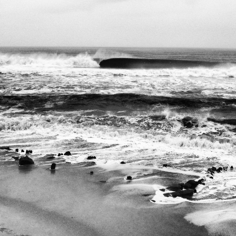 Long island beach life ocean waves surfing