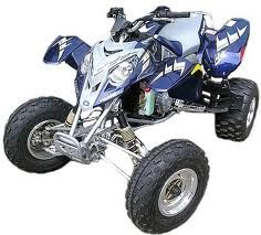 Polaris Racing Quad