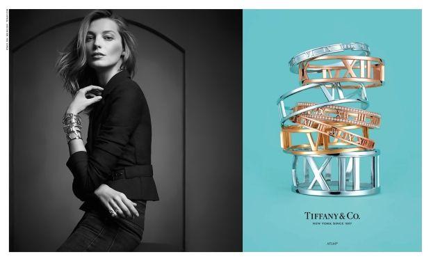 Daria Werbowy Lands A Tiffany