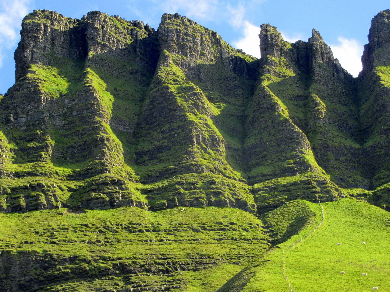 Benbulben mountain, Sligo, Ireland.