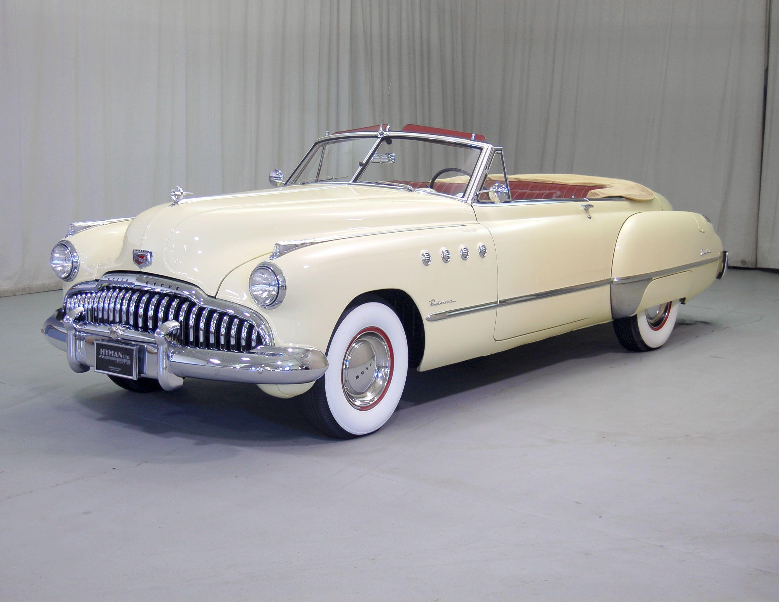 1949 Buick Roadmaster Convertible Classic Cars Pinterest