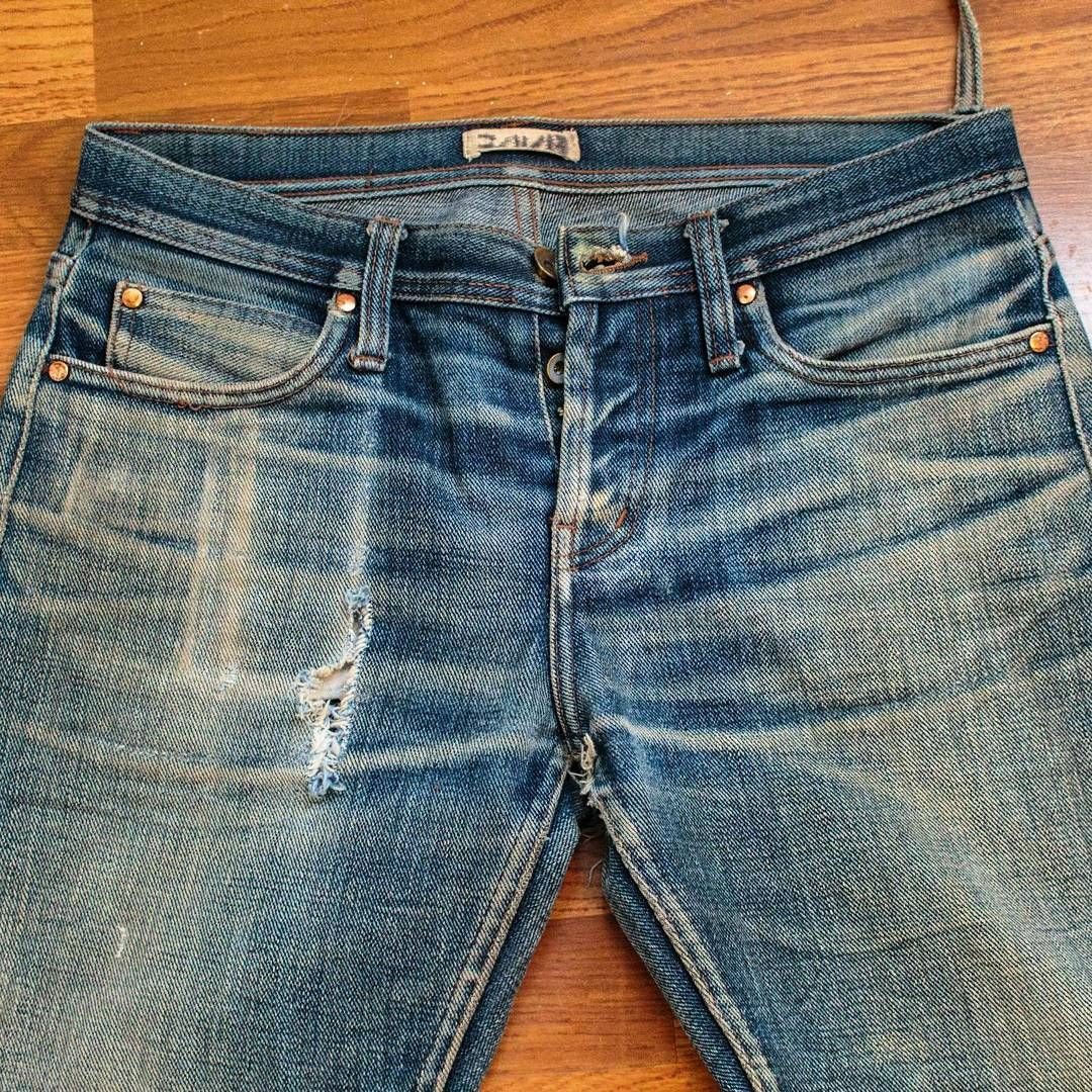 Unbranded 21oz Ub121  Worn 18 months with 10 washes  Worn by