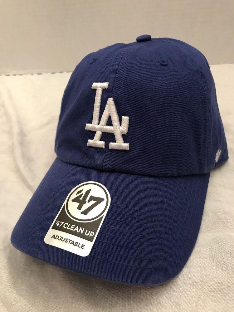 4c0de155c7a LOS ANGELES LA DODGERS DADHAT CAP 47 BRAND CLEAN UP BRAND NEW ADJUSTABLE  COTTON  fashion