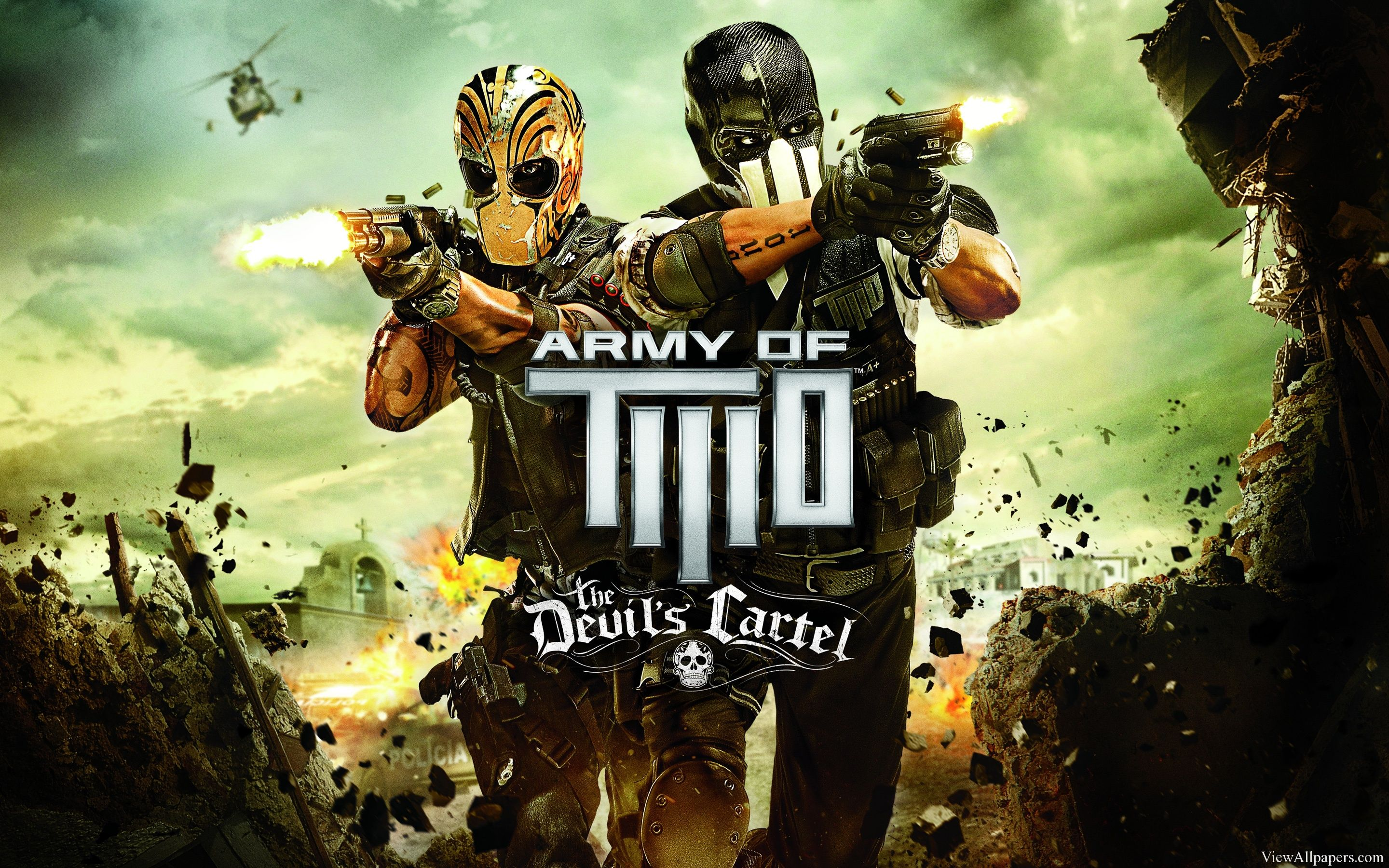 Army Of Two The Devils Cartel 2013 Hd Army Of Two Electronic