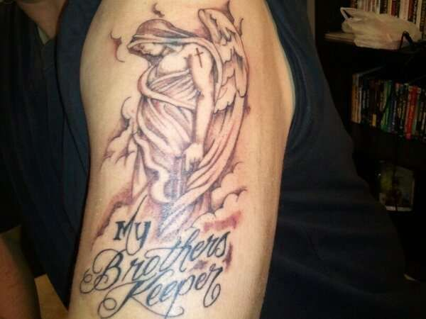 The best my brothers keeper 600 450 pat for Brother symbol tattoos