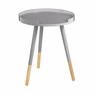 FADS Viborg Round Side Table Grey