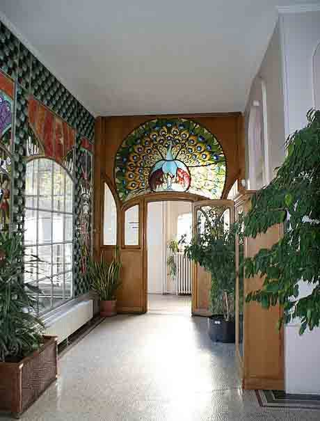 Art Nouveau - Villa Bergeret - Nancy - 1901 - Intérieurs - Le
